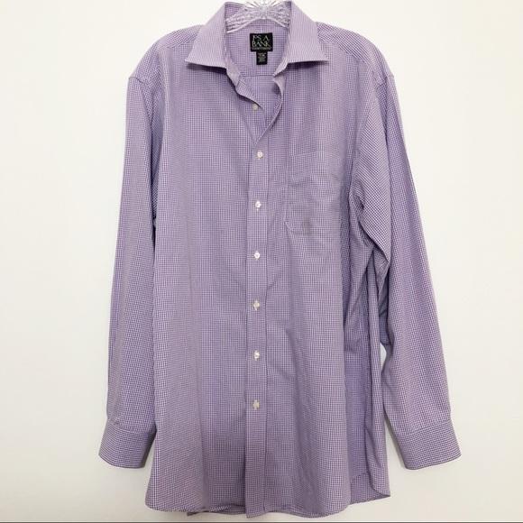 Jos. A. Bank Other - Men's Jos A Bank Traveler Button Down Purple